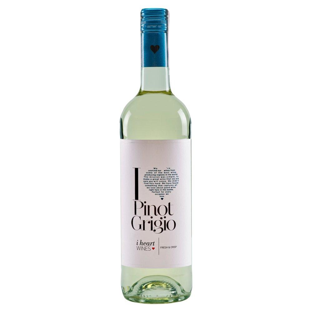 I Heart Pinot Grigio Wino białe wytrawne węgierskie 750ml