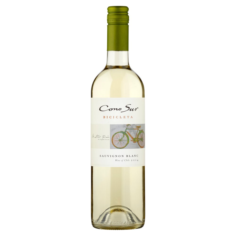 Cono Sur Bicicleta Sauvignon Blanc Wino białe wytrawne chilijskie 750ml