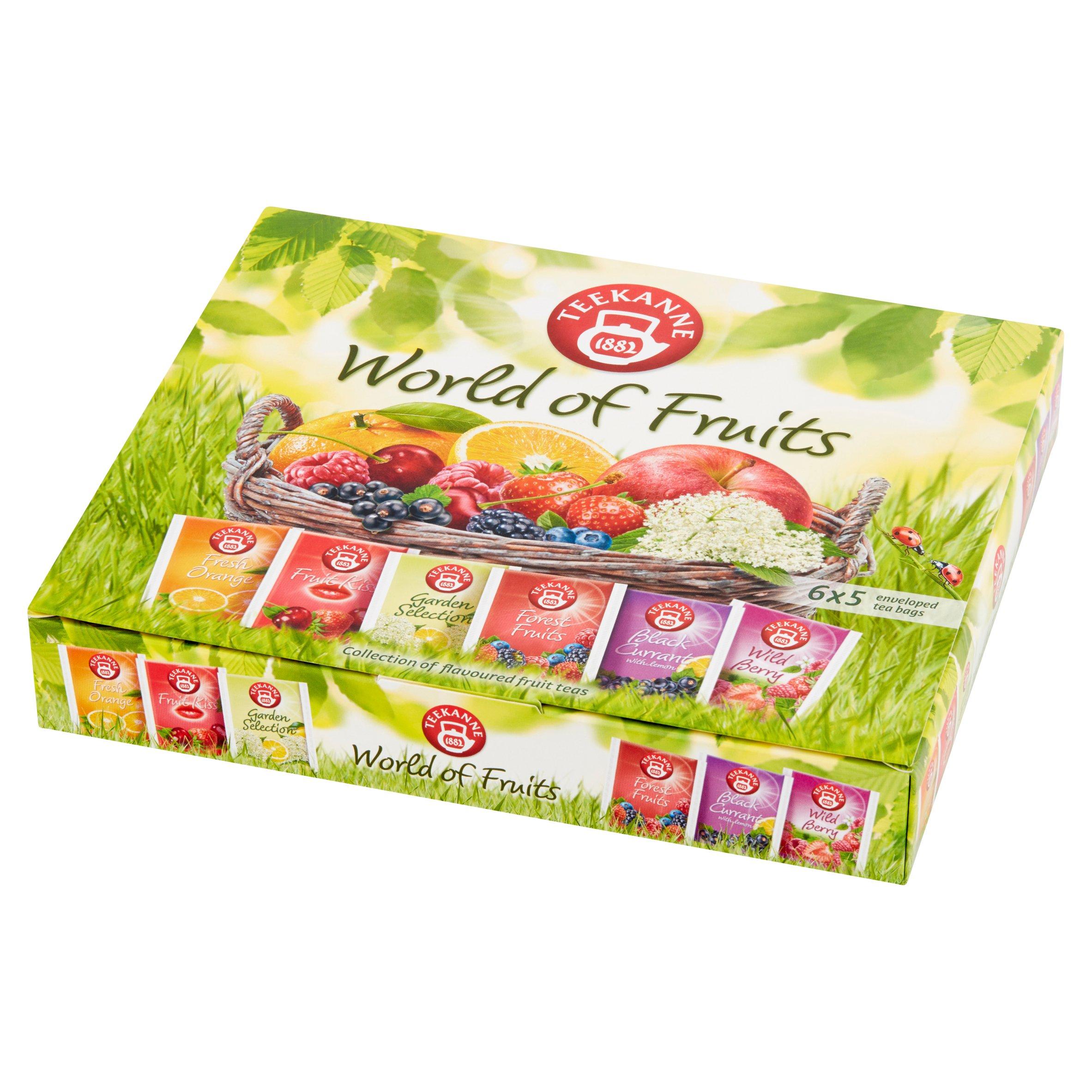 Teekanne World of Fruits Aromatyzowana mieszanka herbatek owocowych 70g (6x5tor) (3)