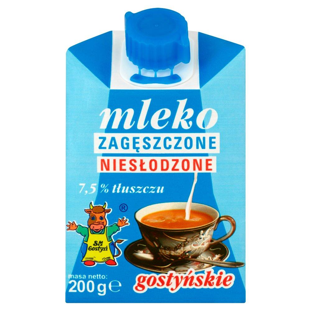 SM Gostyń Mleko gostyńskie zagęszczone niesłodzone 7,5% 200g (2)