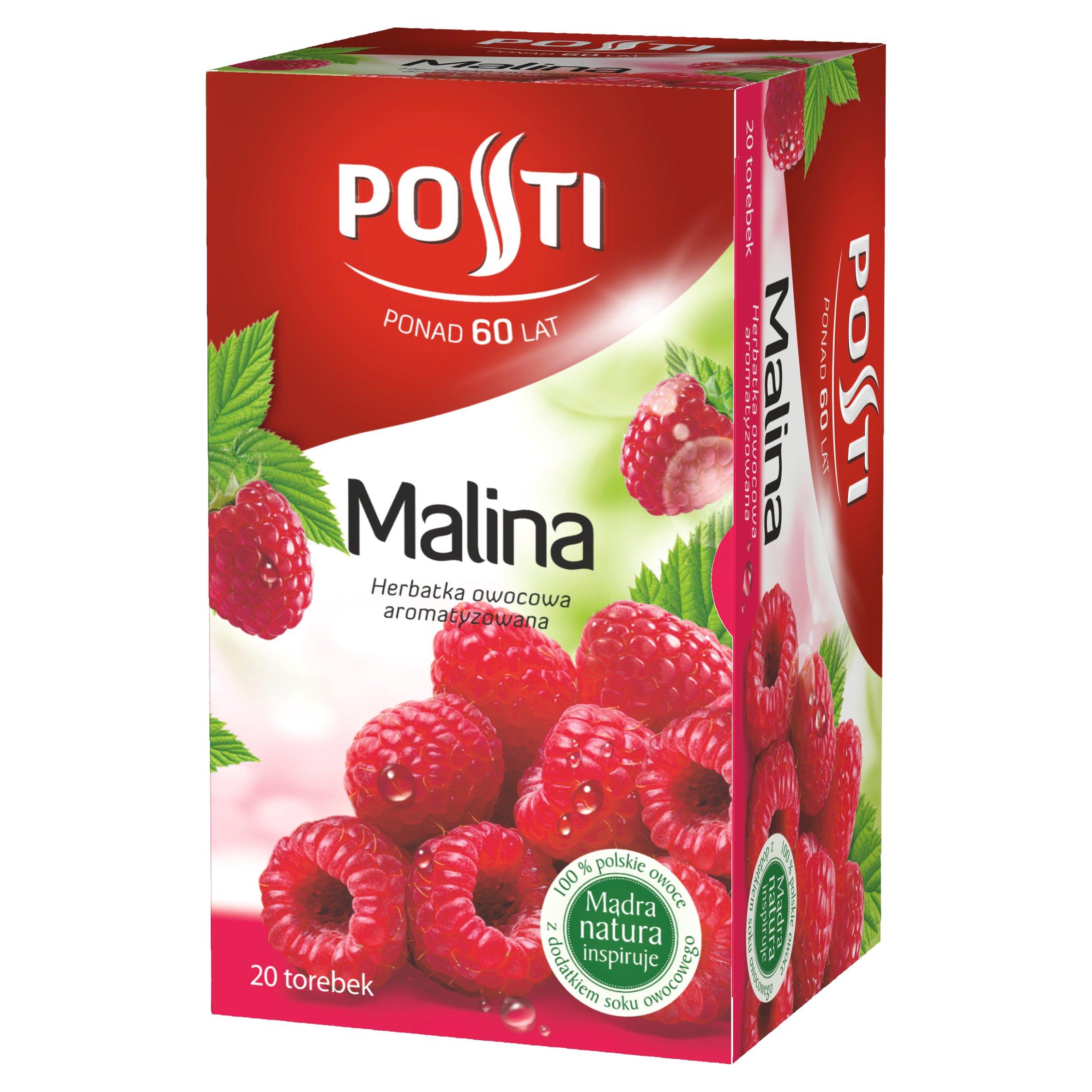 Posti Malina Herbatka owocowa aromatyzowana 40g (20 tb)