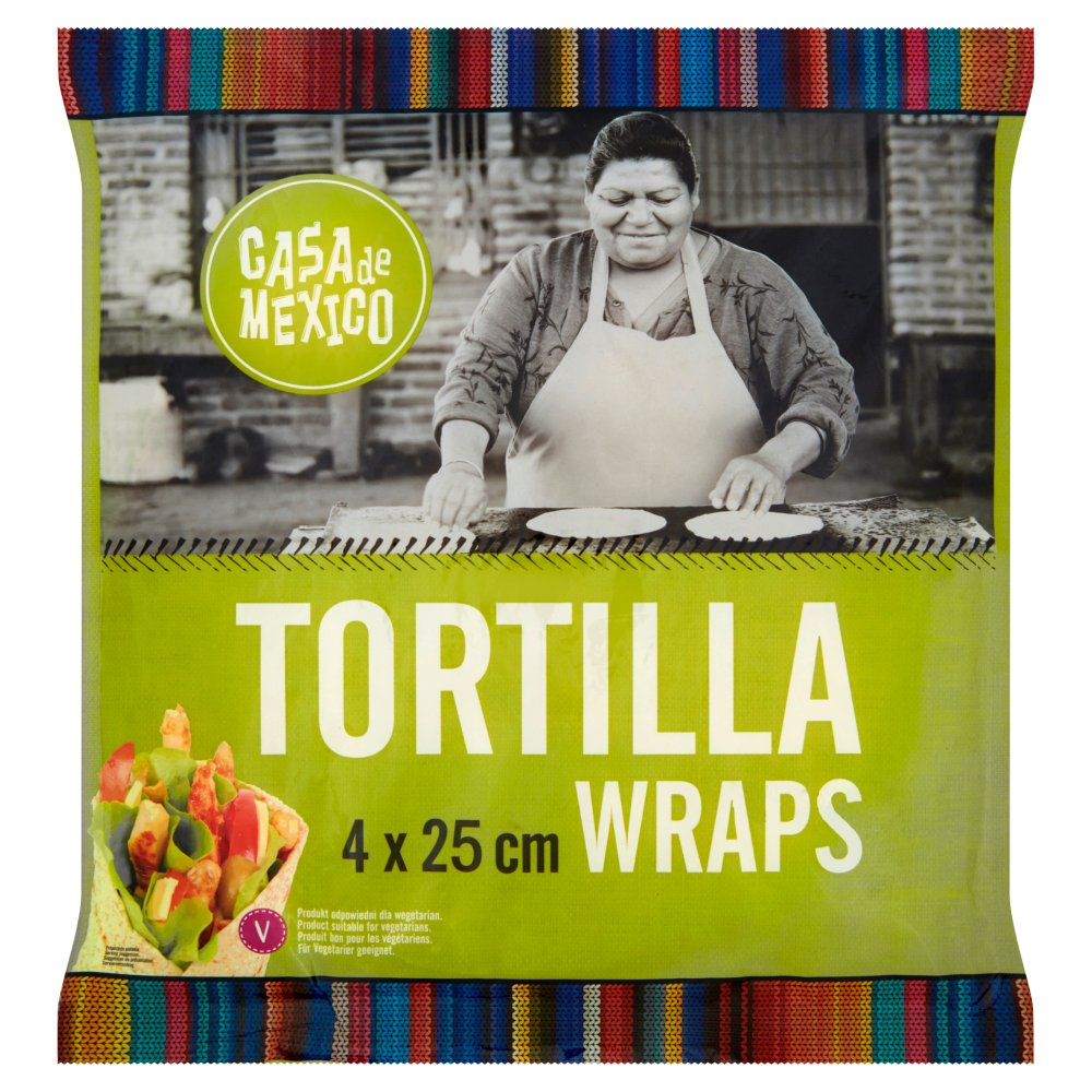 Casa de Mexico Tortilla wrap 25 cm (4 szt.) 240g (2)