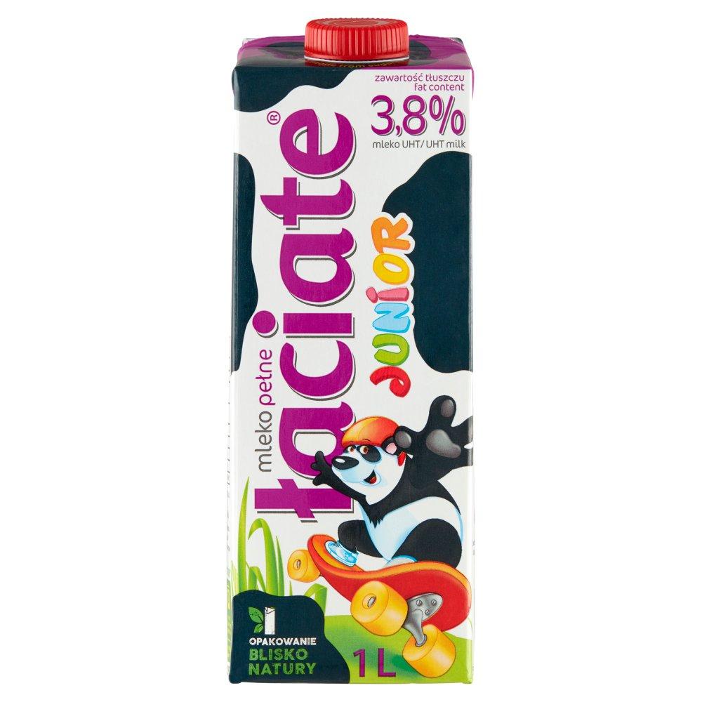 Łaciate Junior Mleko UHT 3,8% 1l (2)