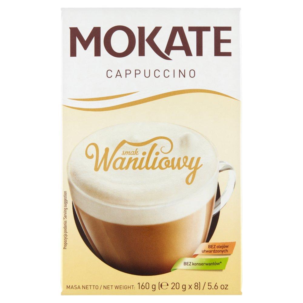 Mokate Cappuccino smak waniliowy 160g (8x20g) (2)