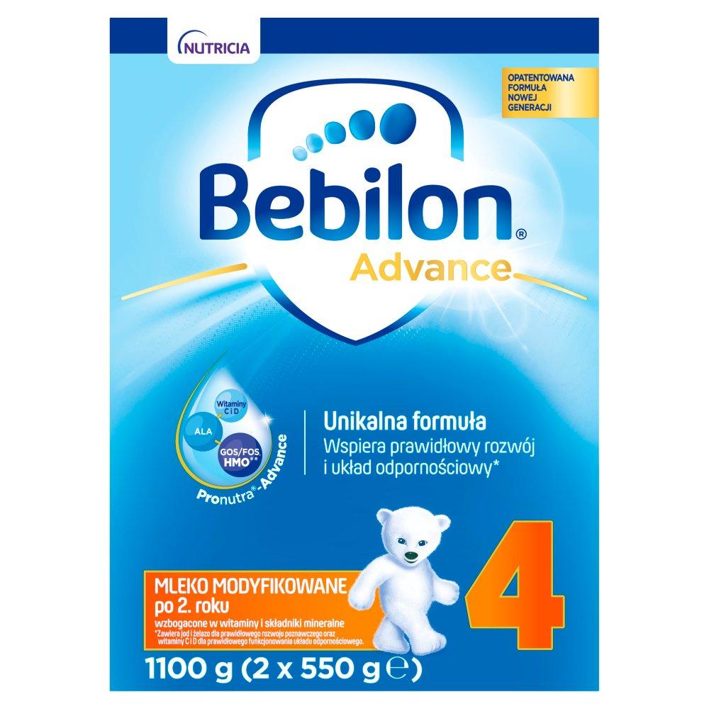 Bebilon 4 Pronutra-Advance Mleko modyfikowane po 2. roku 1,1kg (2x550g) (2)