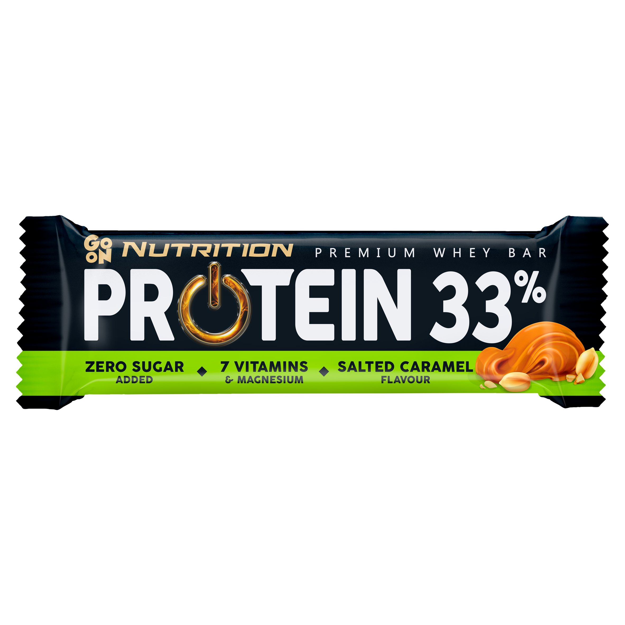 Sante Go On Protein 33% Baton o smaku słonego karmelu 50g