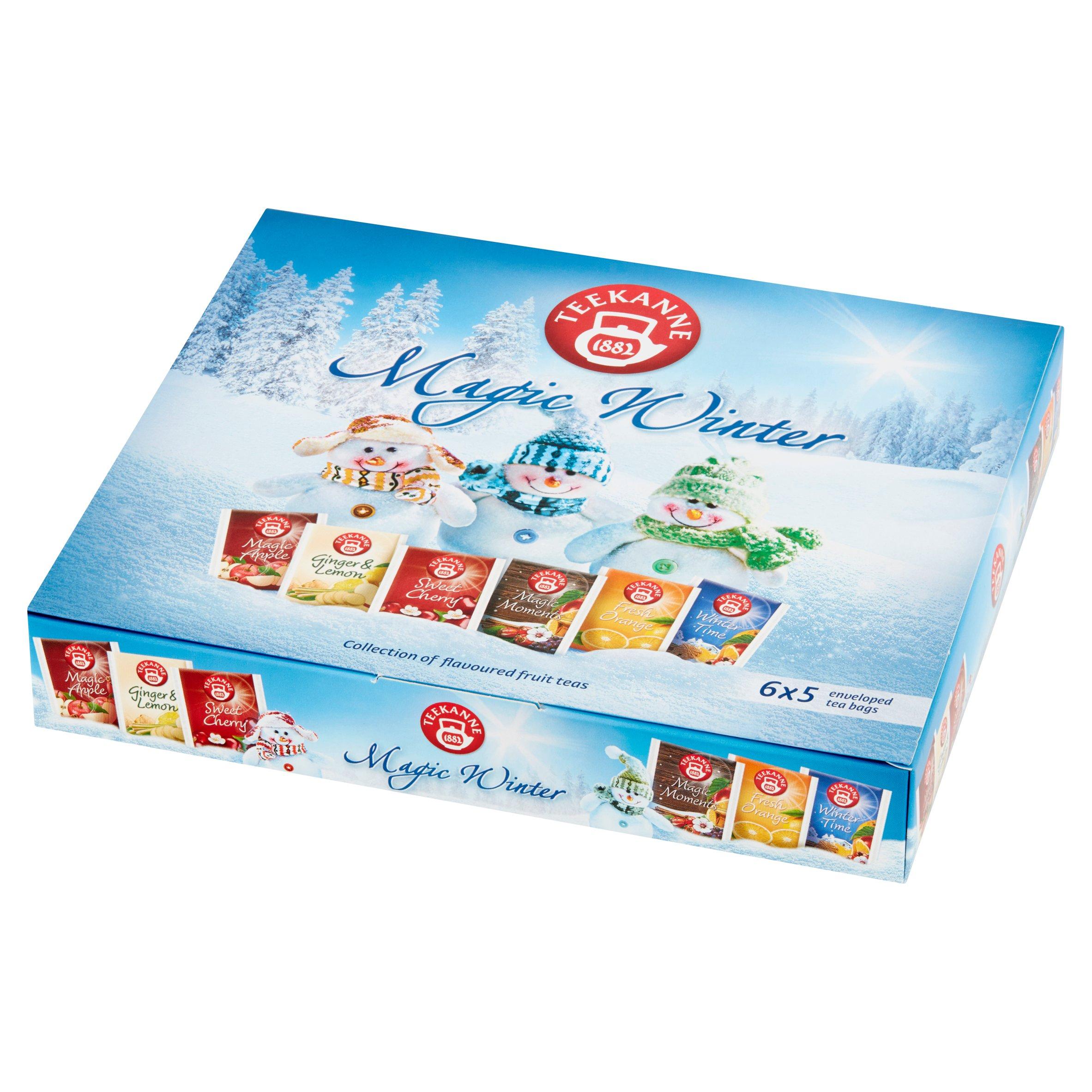 Teekanne Magic Winter Aromatyzowana mieszanka herbatek 68,75g (6 x 5 tor) (3)