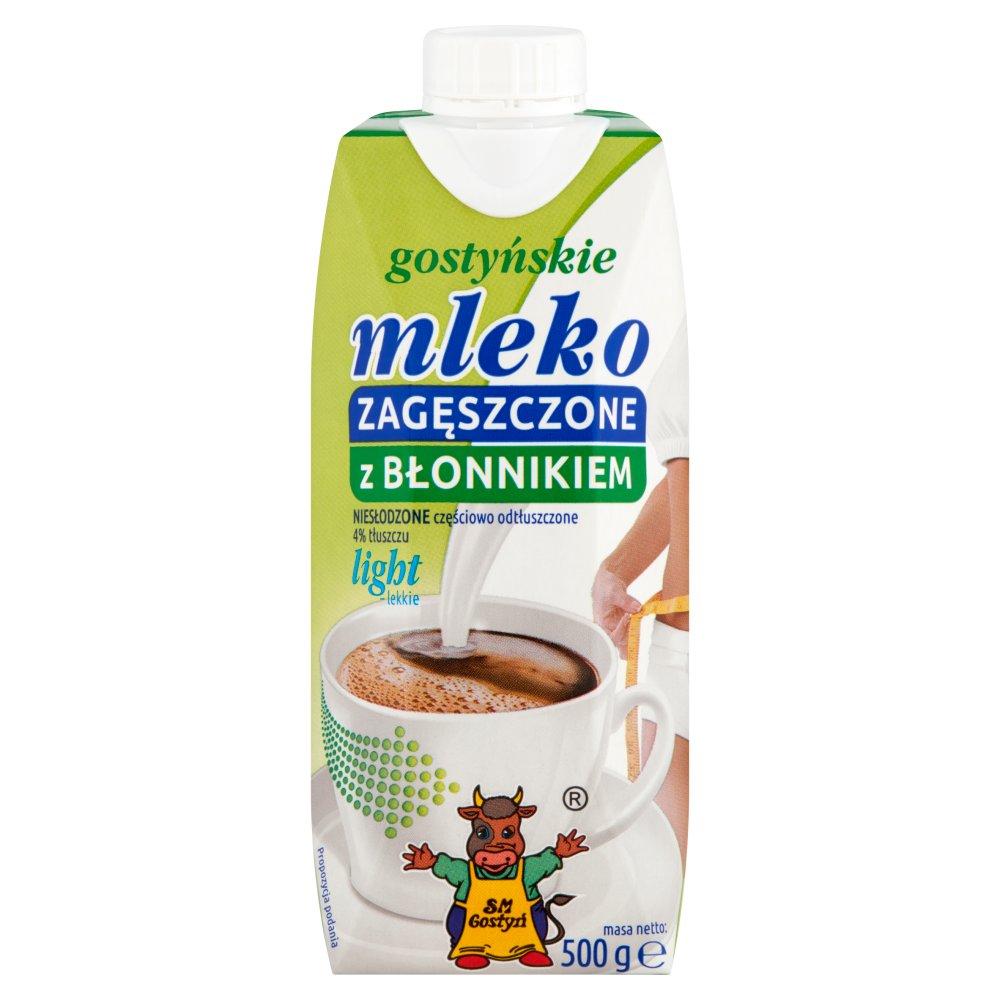 SM Gostyń Gostyńskie mleko zagęszczone z błonnikiem light 500g (2)