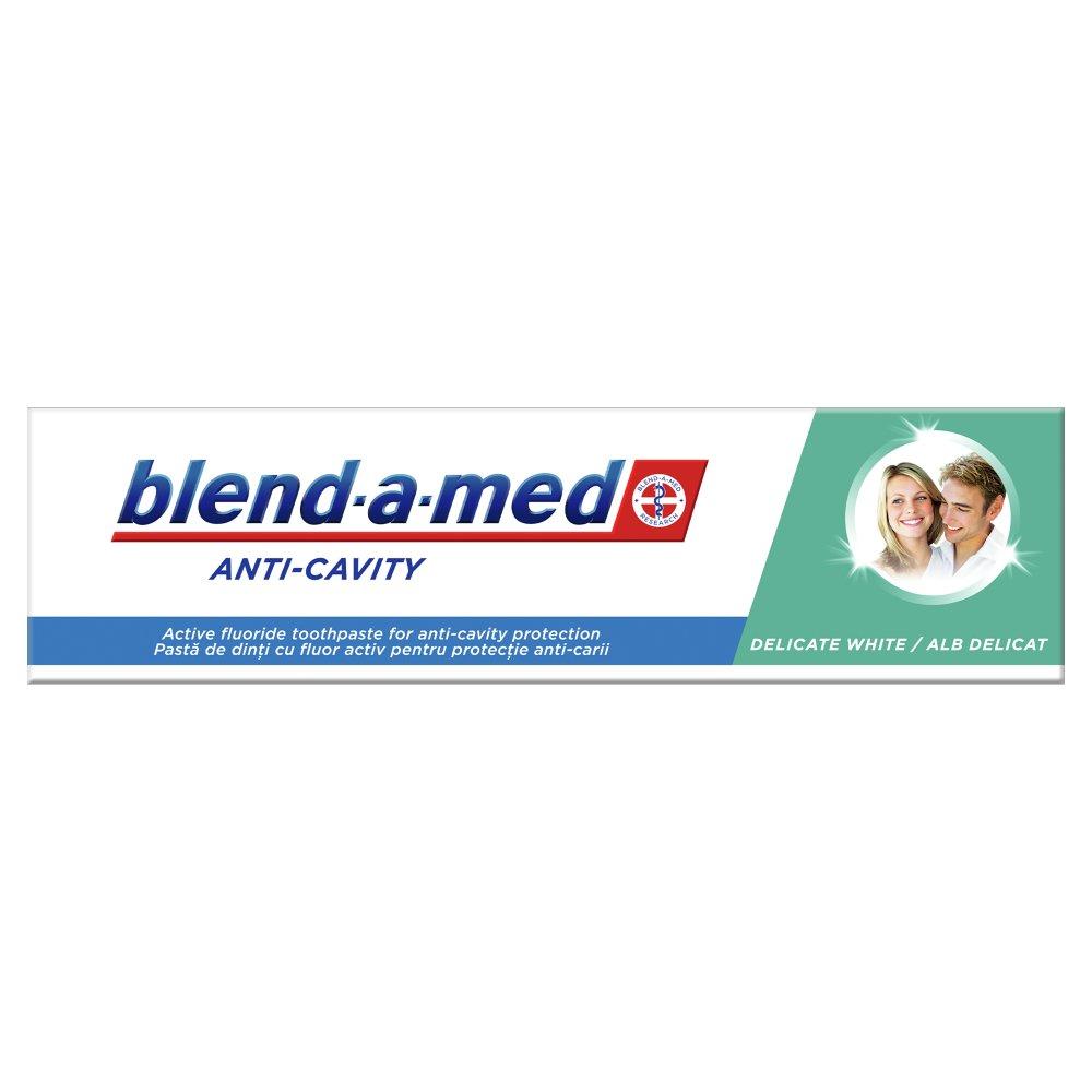 Blend-a-med Anti-Cavity Delicate White Pasta do zębów 100ml (3)