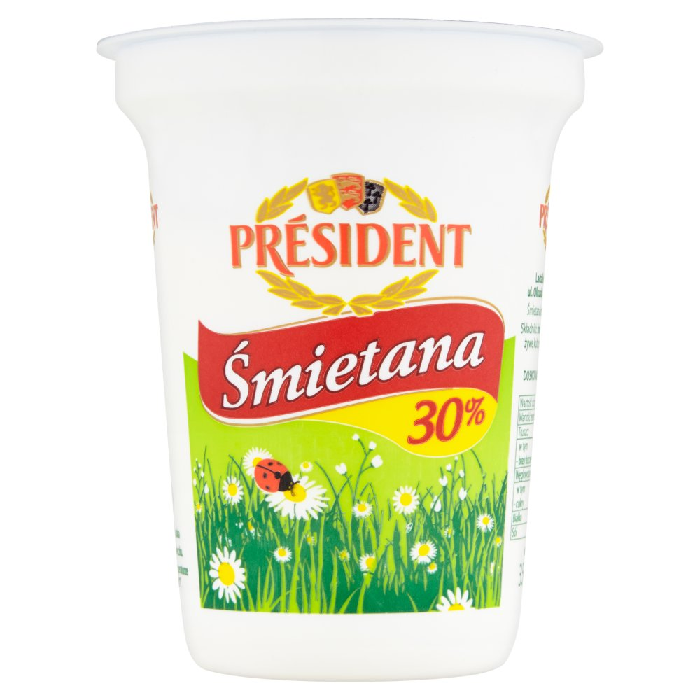Président Śmietana 30% 350g (2)