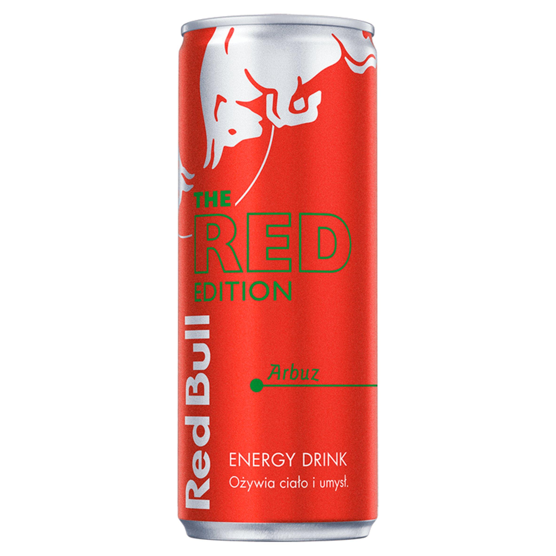 Red Bull Napój energetyczny arbuz 250ml