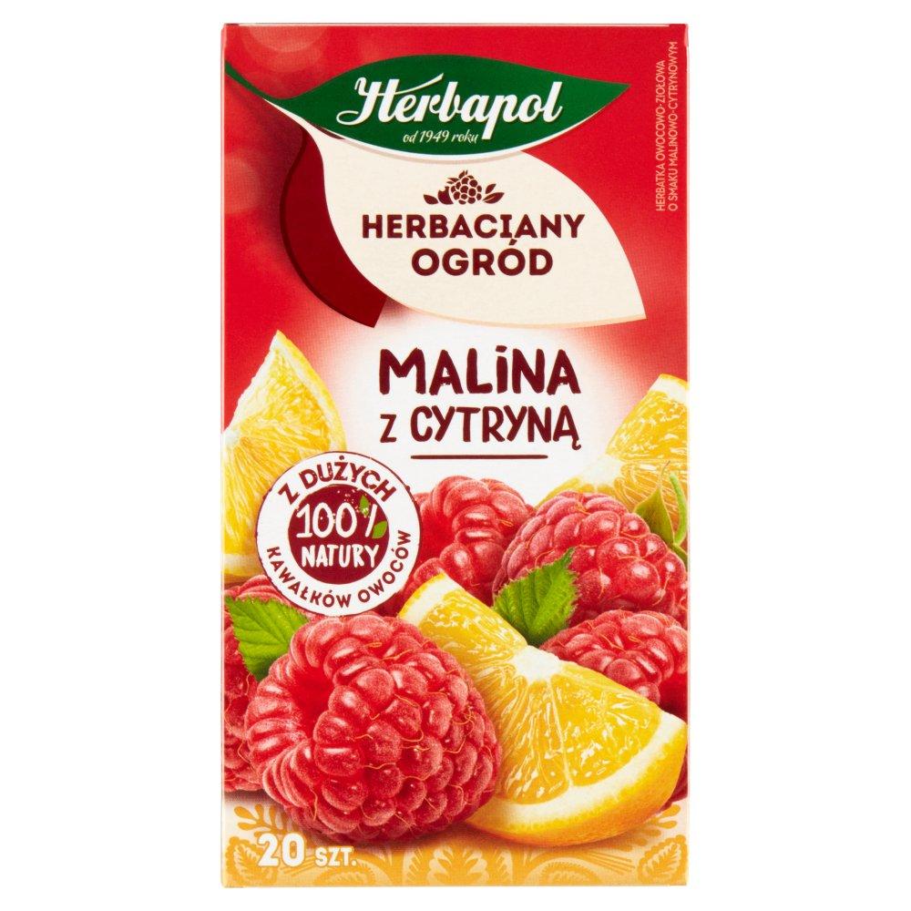 Herbapol Herbaciany Ogród Herbatka owocowo-ziołowa malina z cytryną 54g (20 tb) (2)