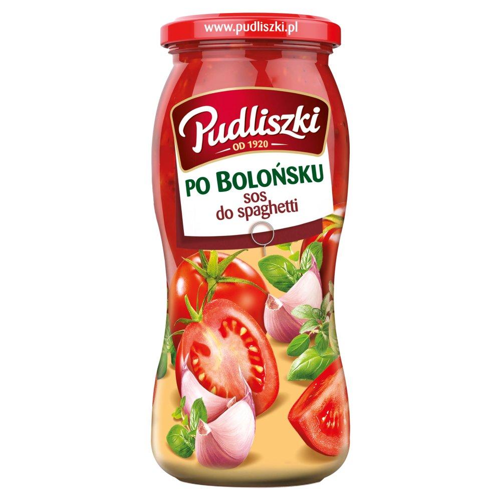 Pudliszki Sos do spaghetti po bolońsku 500g