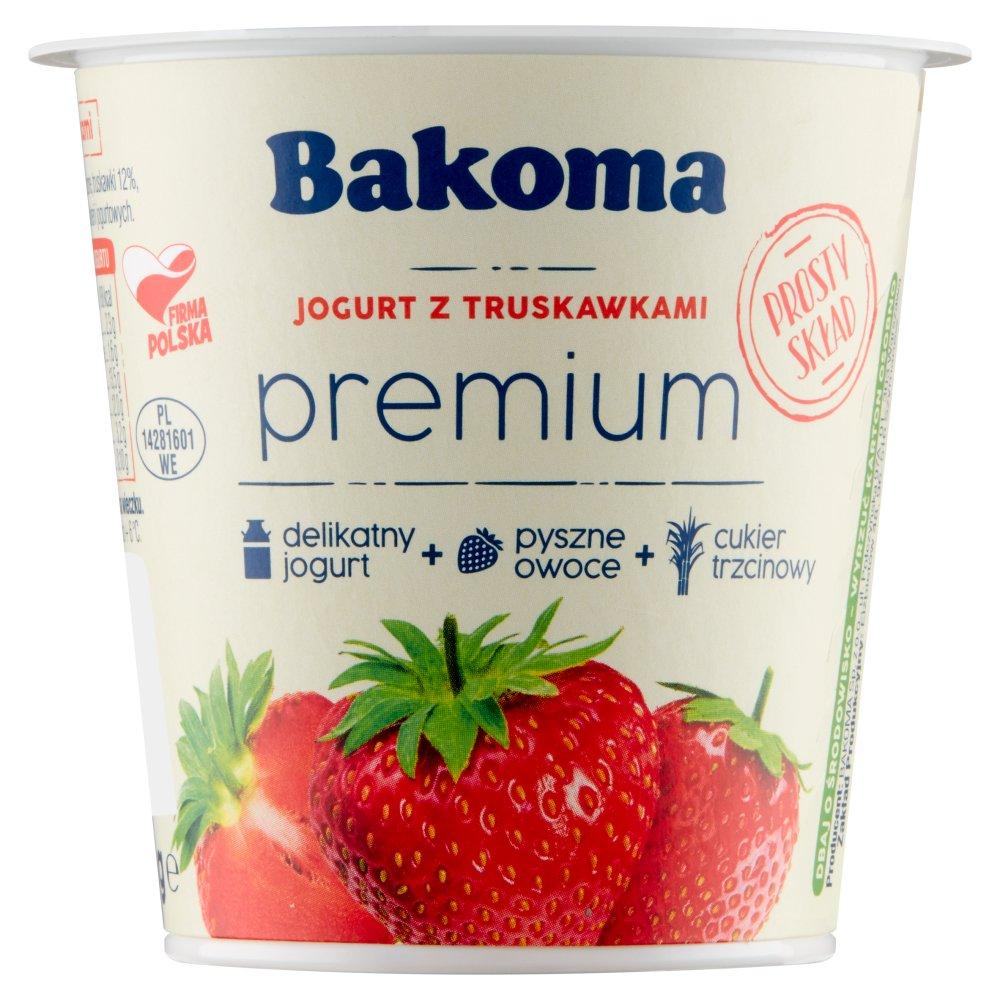 BAKOMA Premium Gold Jogurt z truskawkami (2)