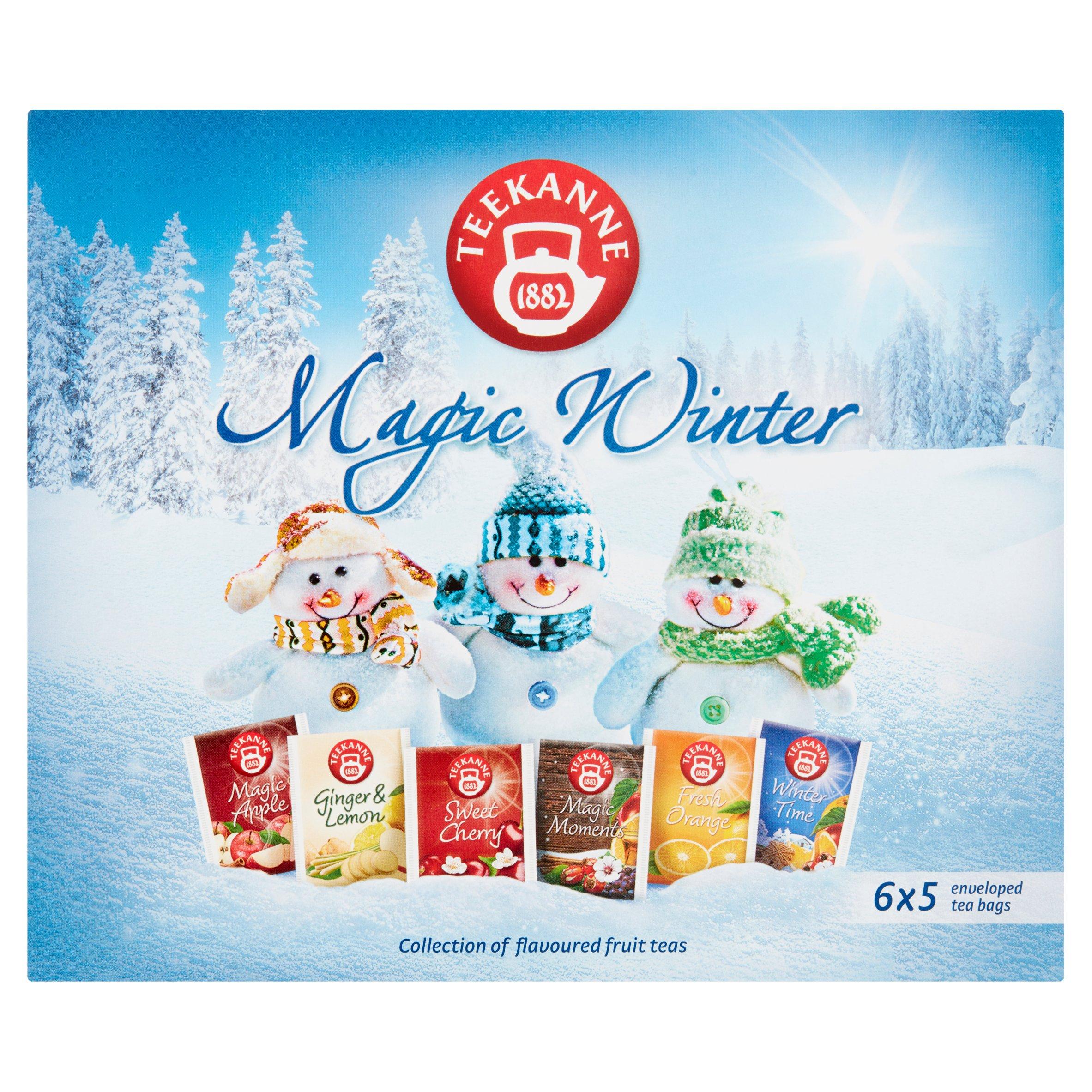 Teekanne Magic Winter Aromatyzowana mieszanka herbatek 68,75g (6 x 5 tor) (4)