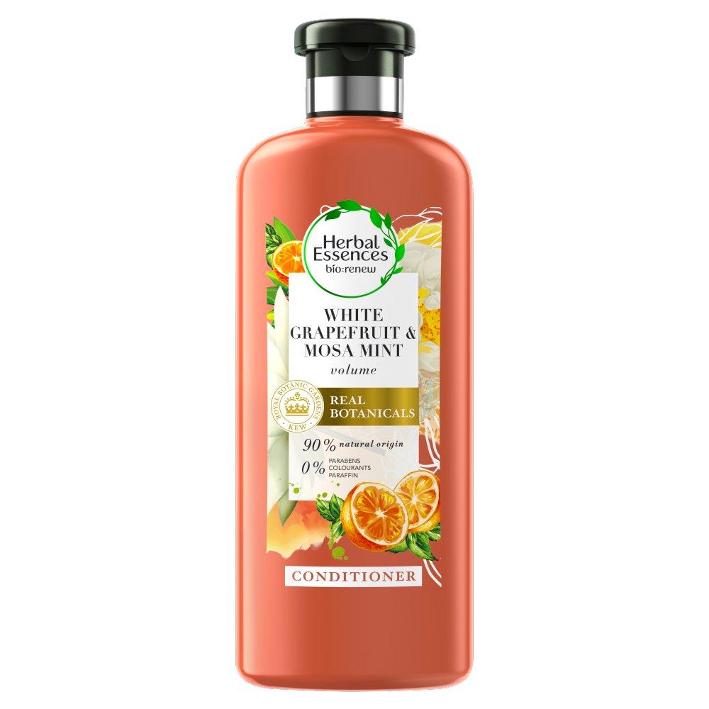 Herbal Essences bio:renew Odżywkadowłosów nadająca objętość z białym grejpfrutem 360ml (2)