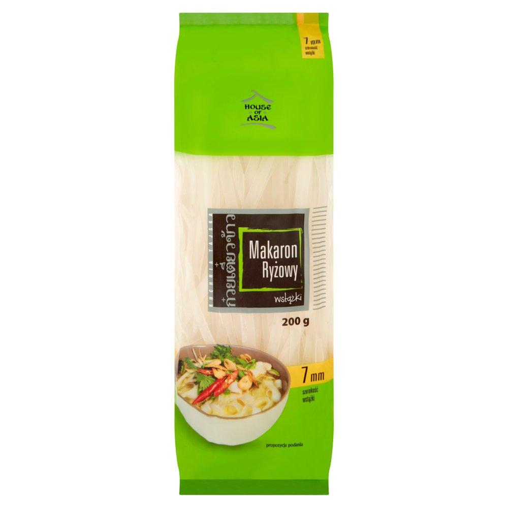 House of Asia Bezglutenowy makaron ryżowy 7 mm 200g (2)