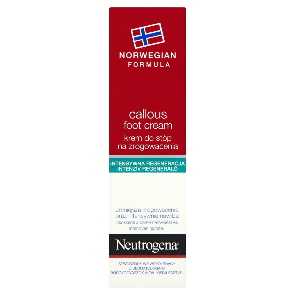 Neutrogena Formuła Norweska Krem do stóp na zrogowacenia 50ml (2)