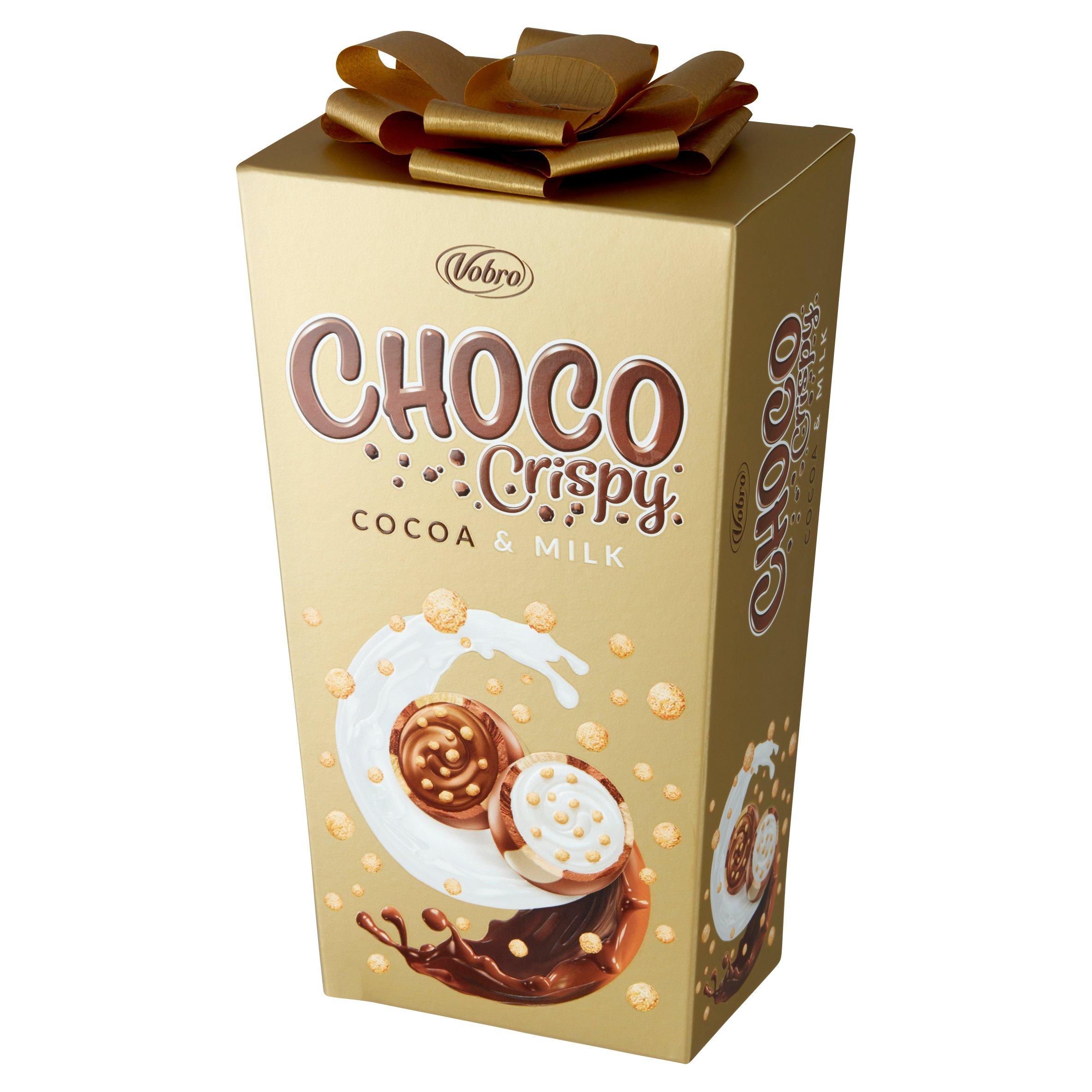 VOBRO Choco Crispy Cocoa & Milk 180G