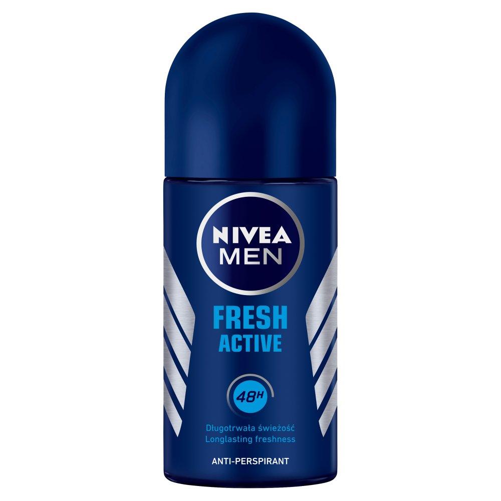 NIVEA MEN Fresh Active Antyperspirant w kulce 50ml