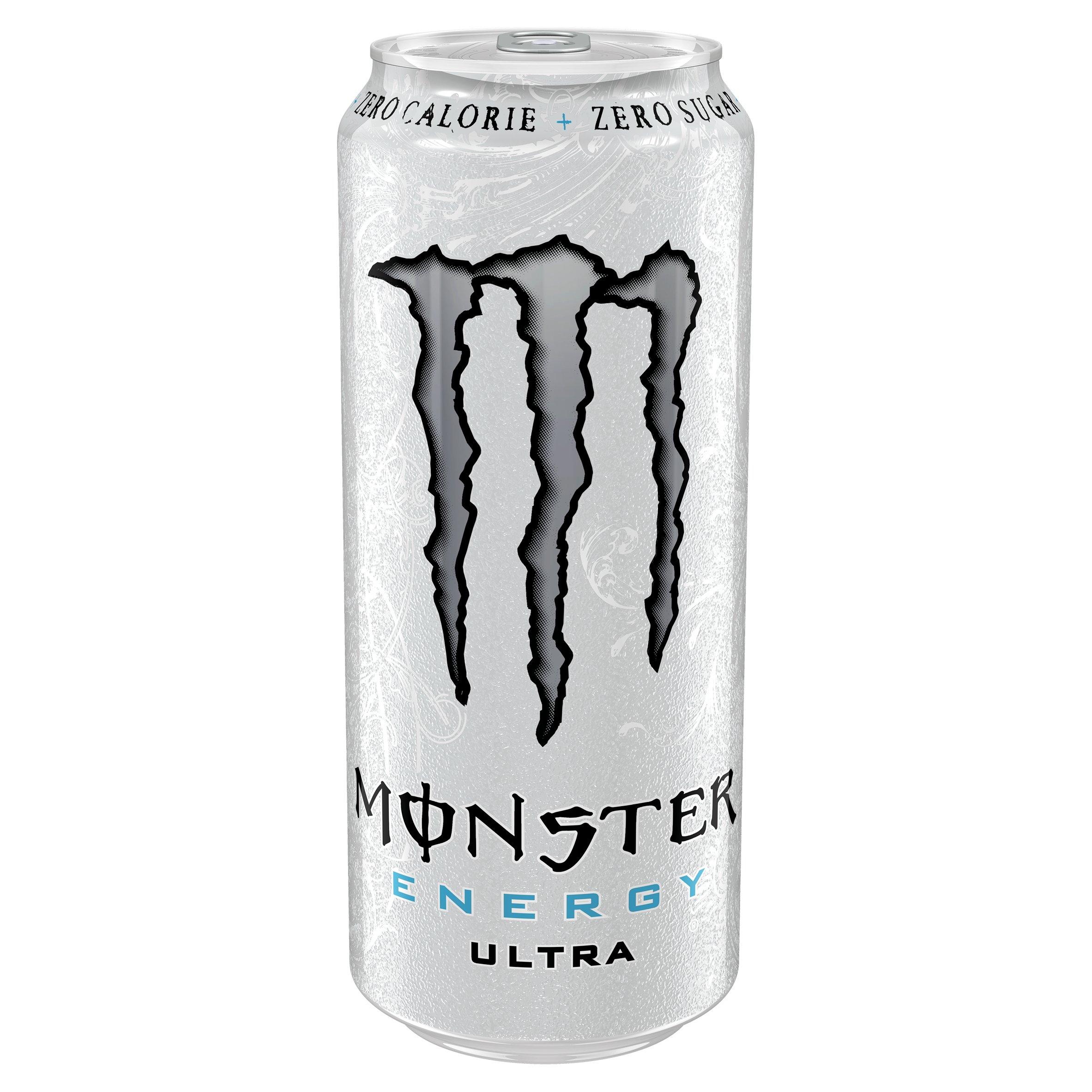 Monster Energy Ultra Gazowany napój energetyczny 500ml