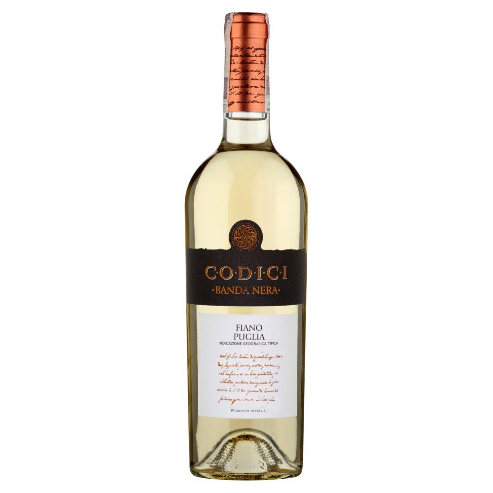 Codici Banda Nera Fiano Puglia Wino białe wytrawne włoskie 750ml