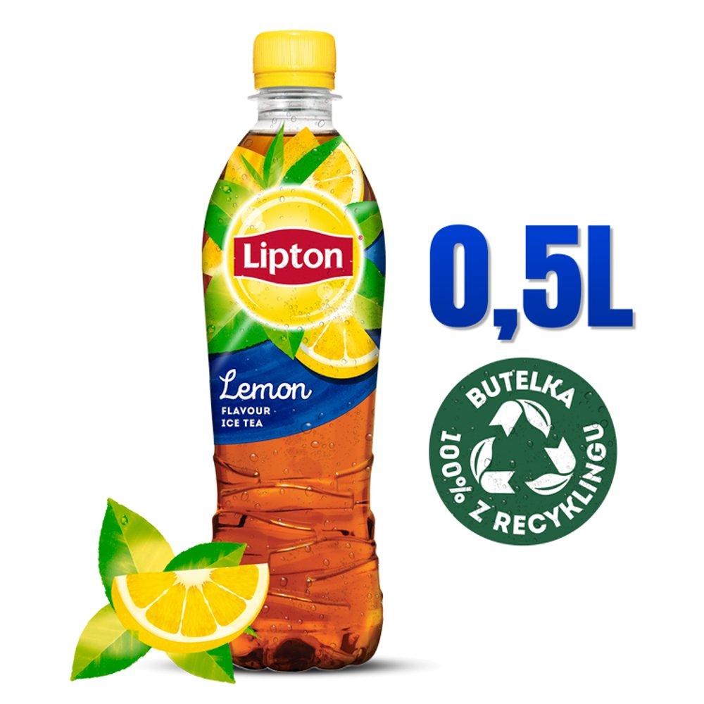 Lipton Ice Tea Lemon Napój niegazowany 500ml (1)
