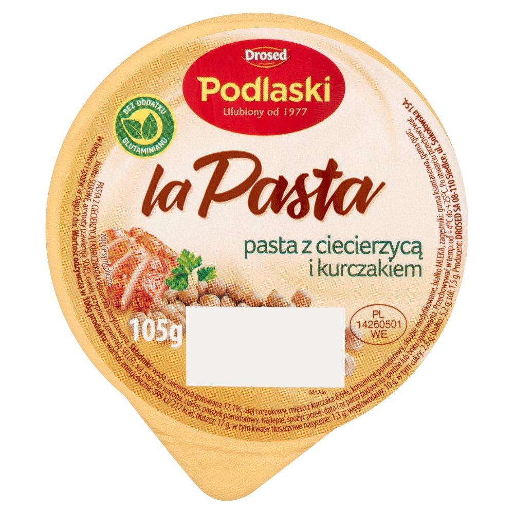 Drosed Podlaski la Pasta Pasta z ciecierzycą i kurczakiem 105g (2)