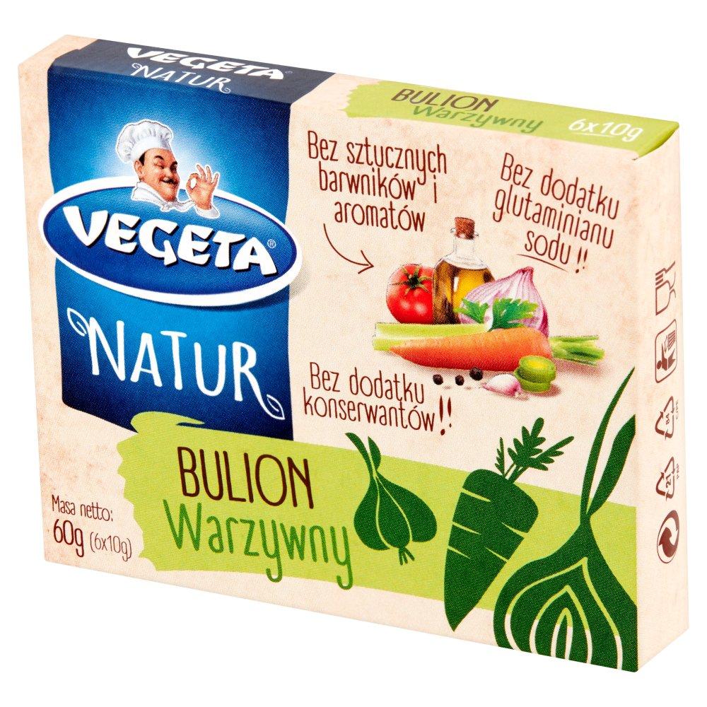 Vegeta Natur Rosół warzywny 60g (6x10g)