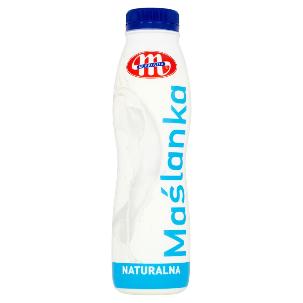Mlekovita Maślanka naturalna 400g