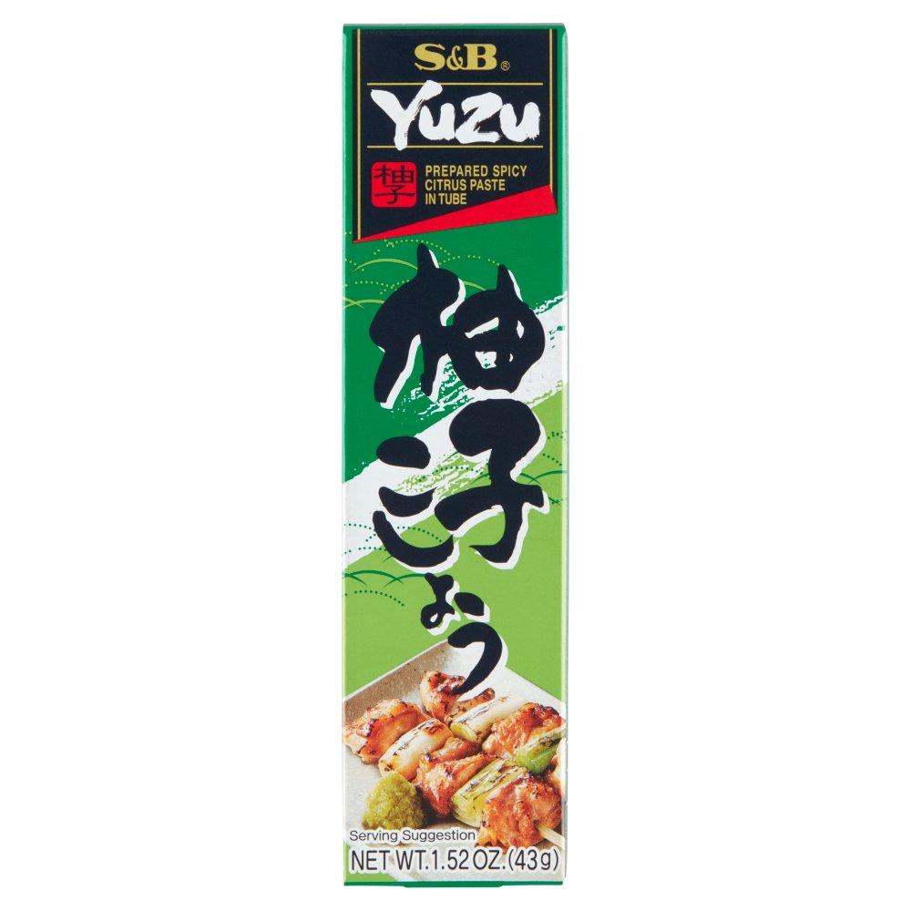 S&B Ostra pasta z yuzu 43g (2)