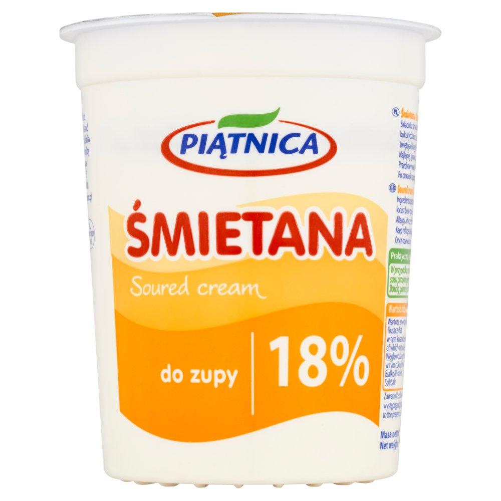 Piątnica Śmietana do zupy 18% 400g (2)