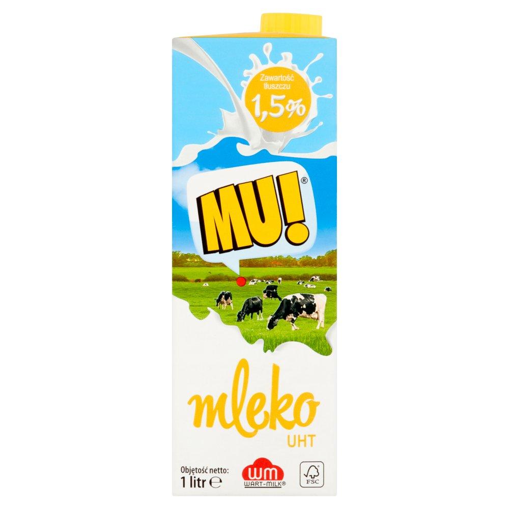 Mu! Mleko UHT 1,5% 1l (2)