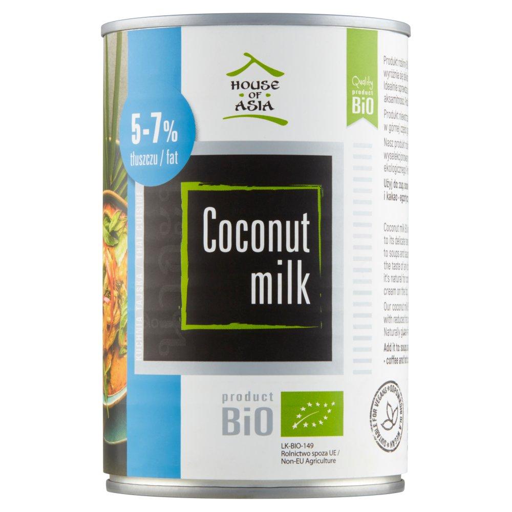 HOUSE OF ASIA Mleczko kokosowe BiO 5-7% tł. (3)
