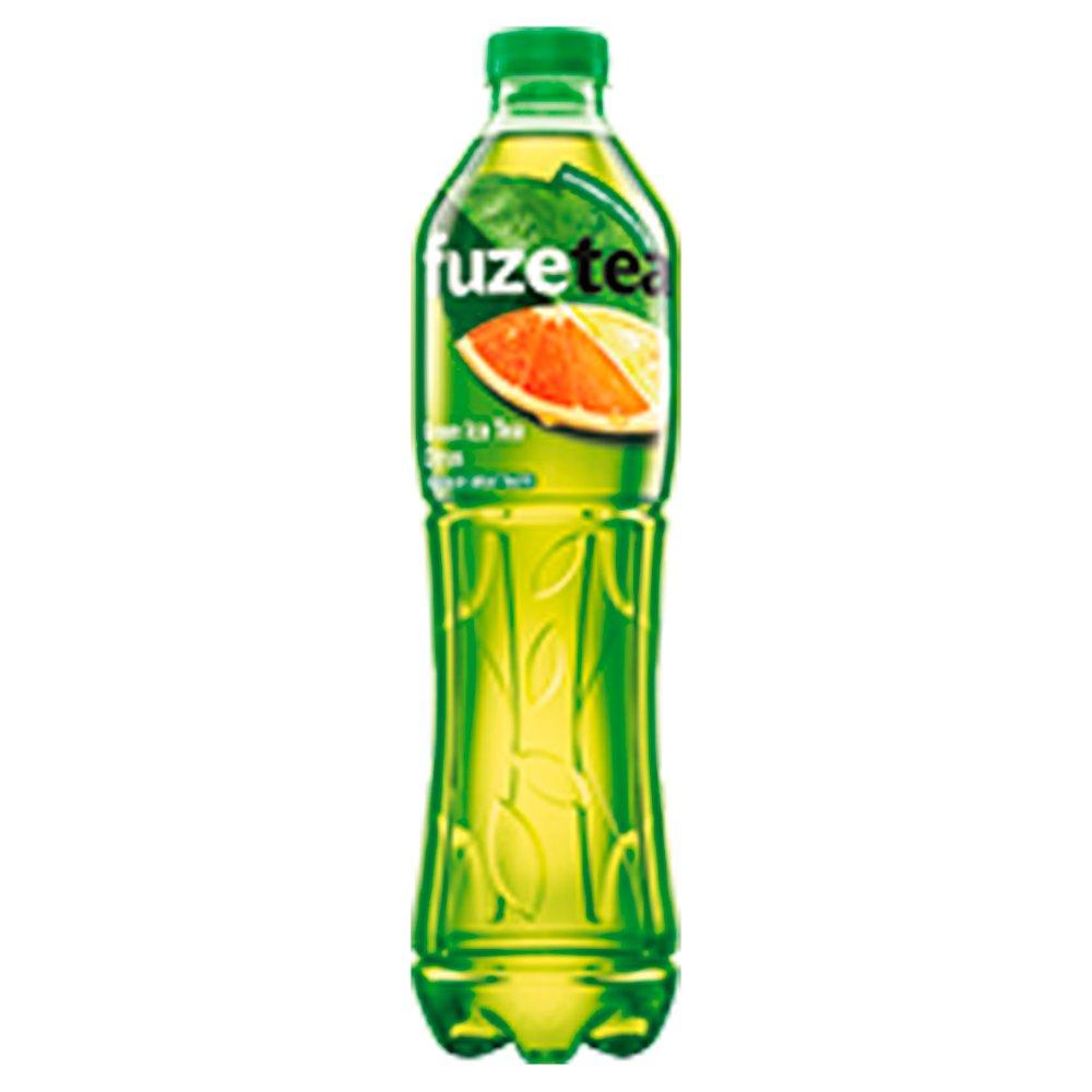 FuzeTea Napój o smaku cytrynowym z ekstraktem z zielonej herbaty 1,5l