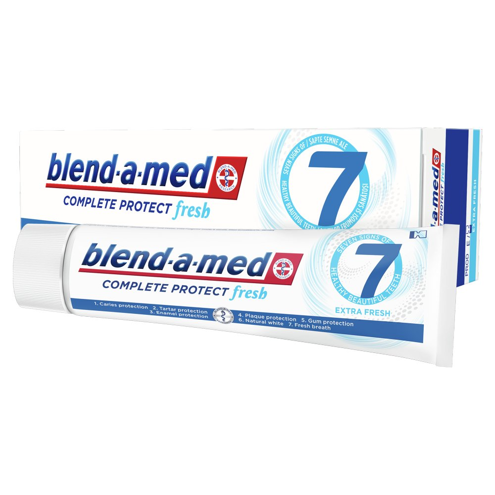Blend-a-med Complete Protect 7 Extra Fresh Pasta do zębów 100ml (2)