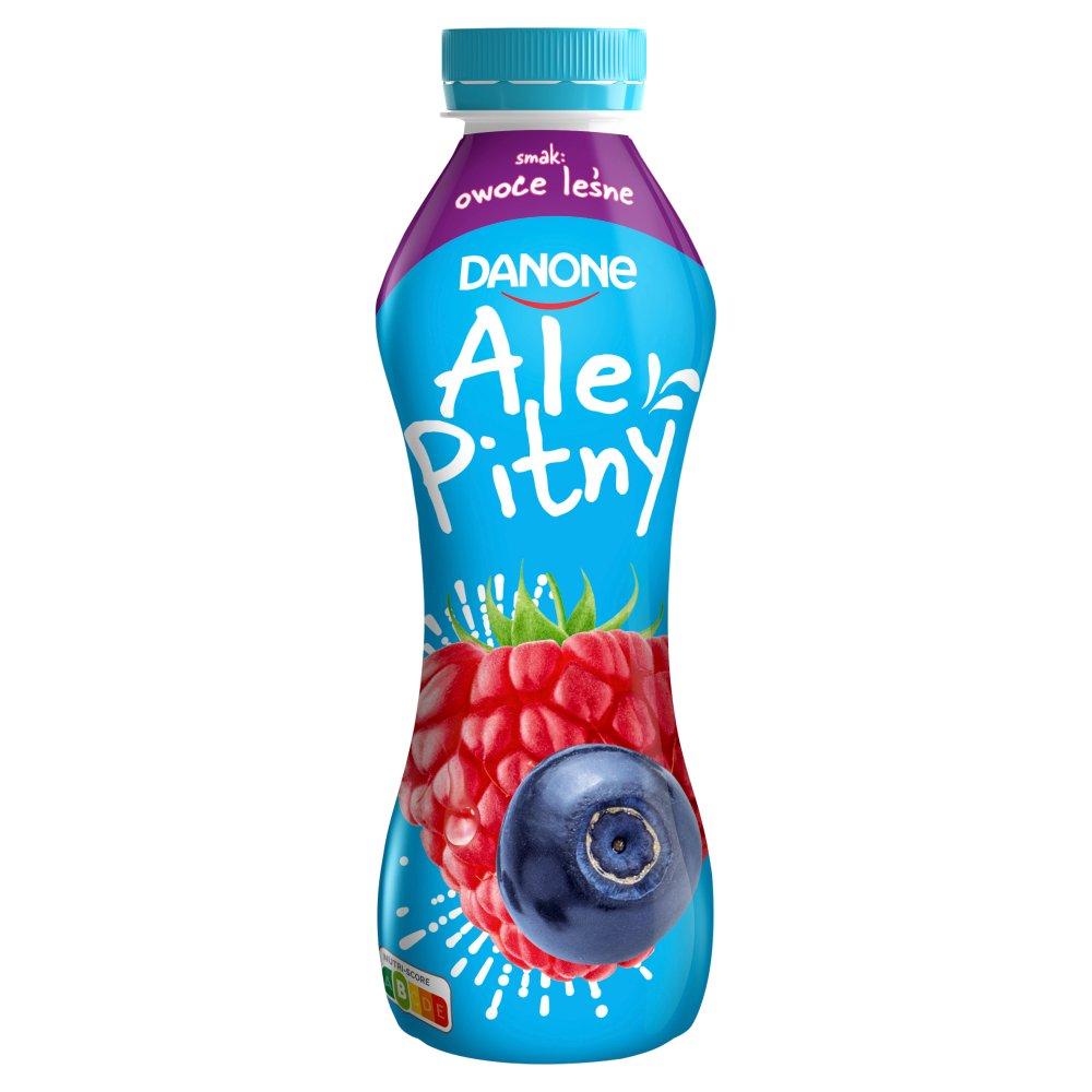 Danone ale Pitny Napój jogurtowy owoce leśne 290g