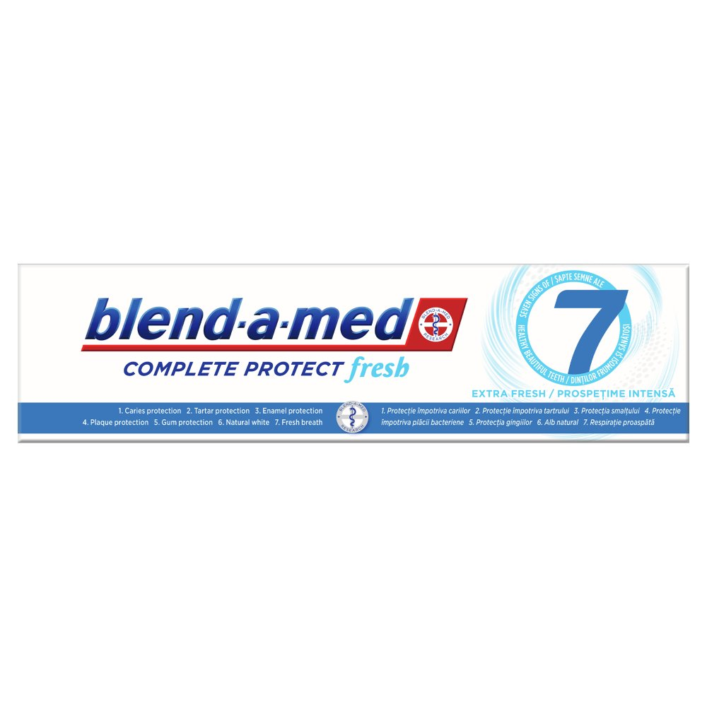 Blend-a-med Complete Protect 7 Extra Fresh Pasta do zębów 100ml (3)
