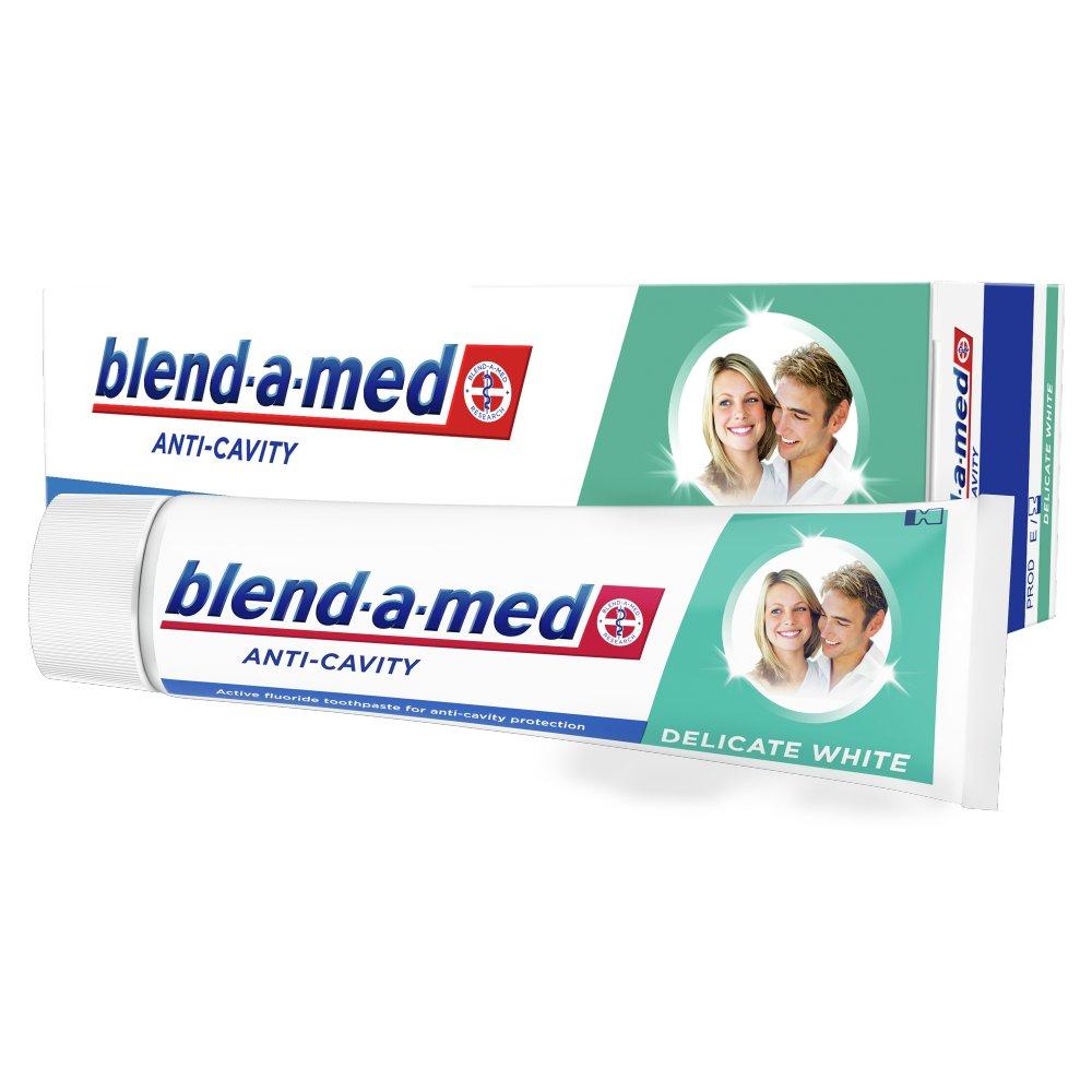 Blend-a-med Anti-Cavity Delicate White Pasta do zębów 100ml (2)