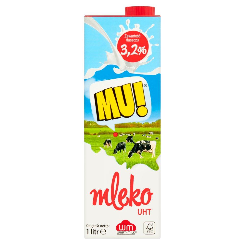 Mu! Mleko UHT 3,2% 1 l (2)