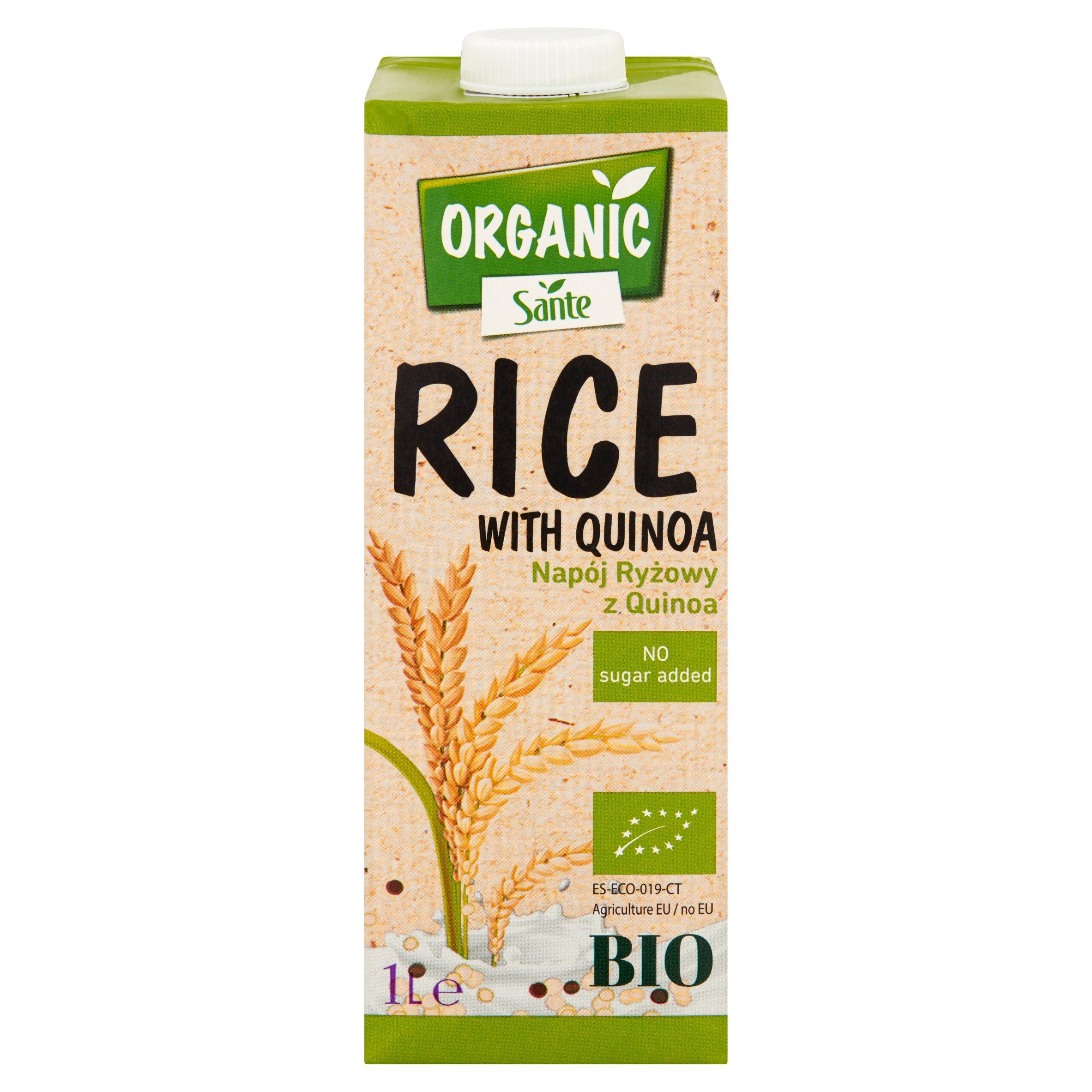 Sante Organic Napój ryżowy z quinoa 1l (4)