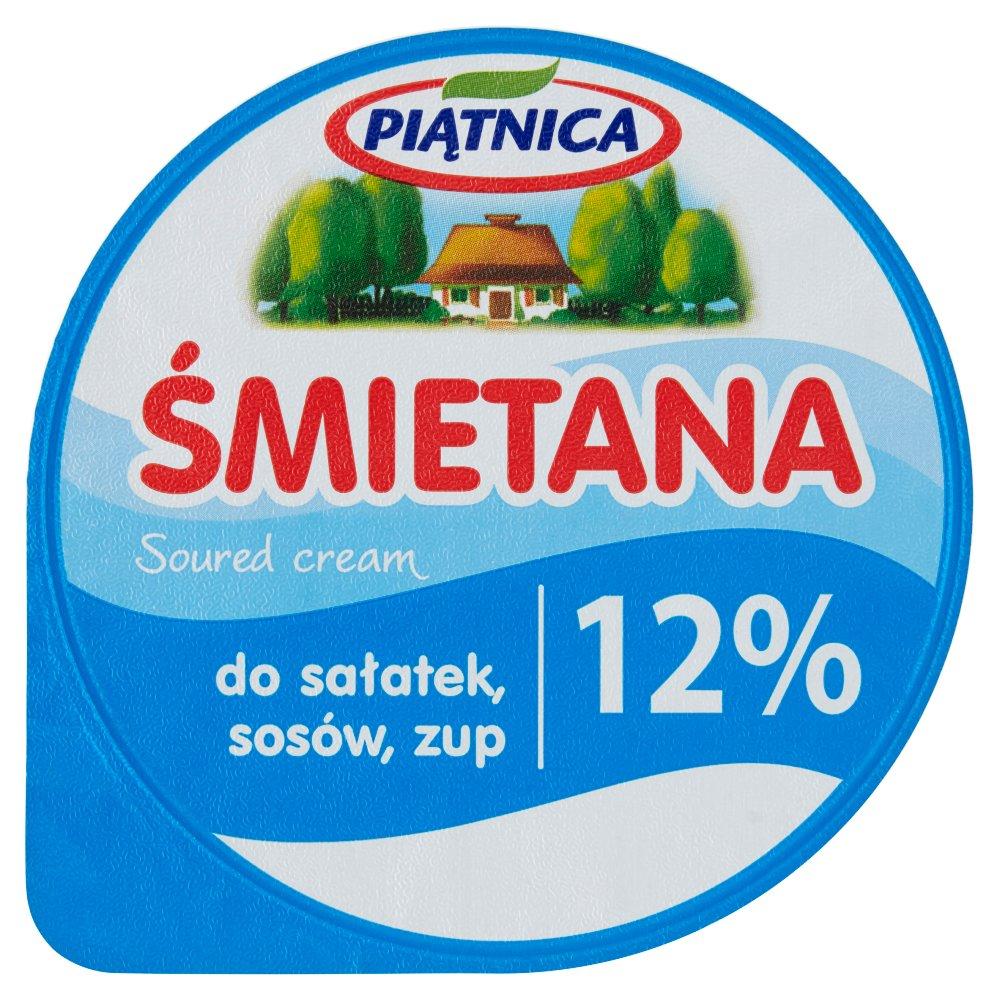Piątnica Śmietana 12% 200g (2)