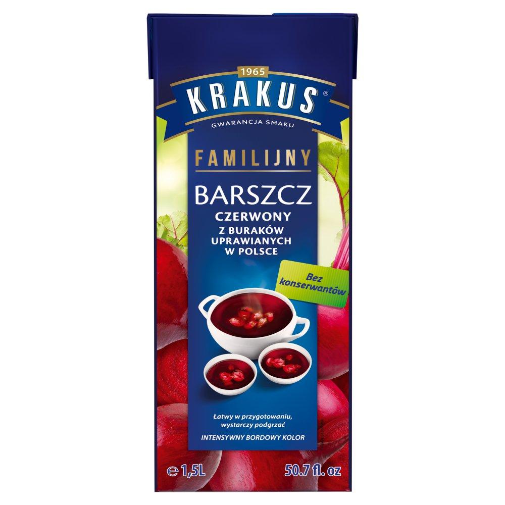 Krakus Barszcz czerwony familijny 1,5 l (2)