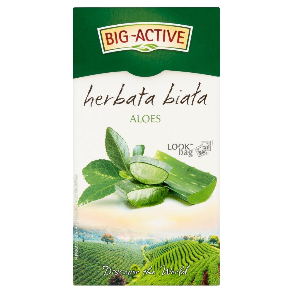 Big-Active Herbata biała aloes 30 g (20 x 1,5 g) (2)