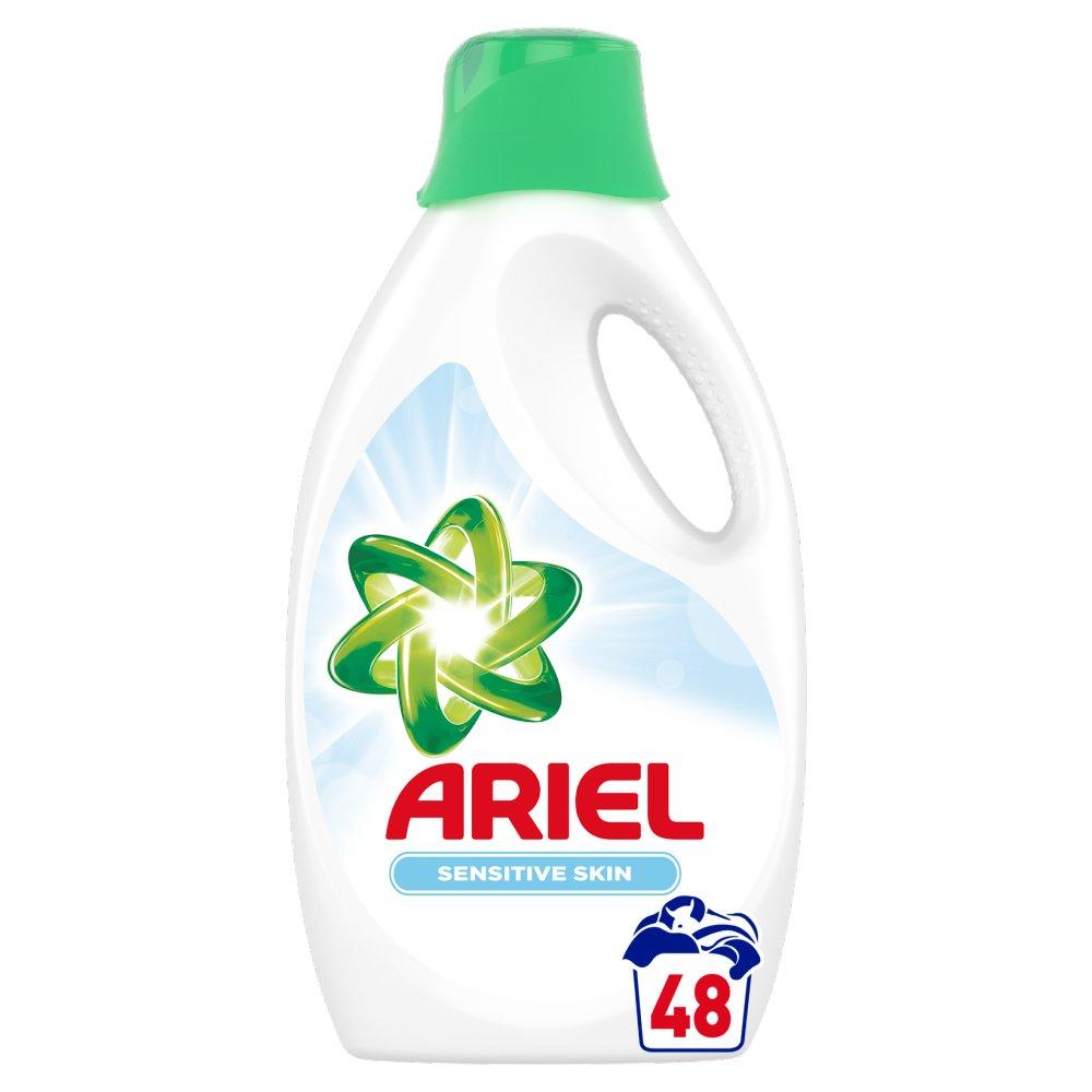 Ariel Sensitive Płyn doprania, 2.64l, 48 prań (2)