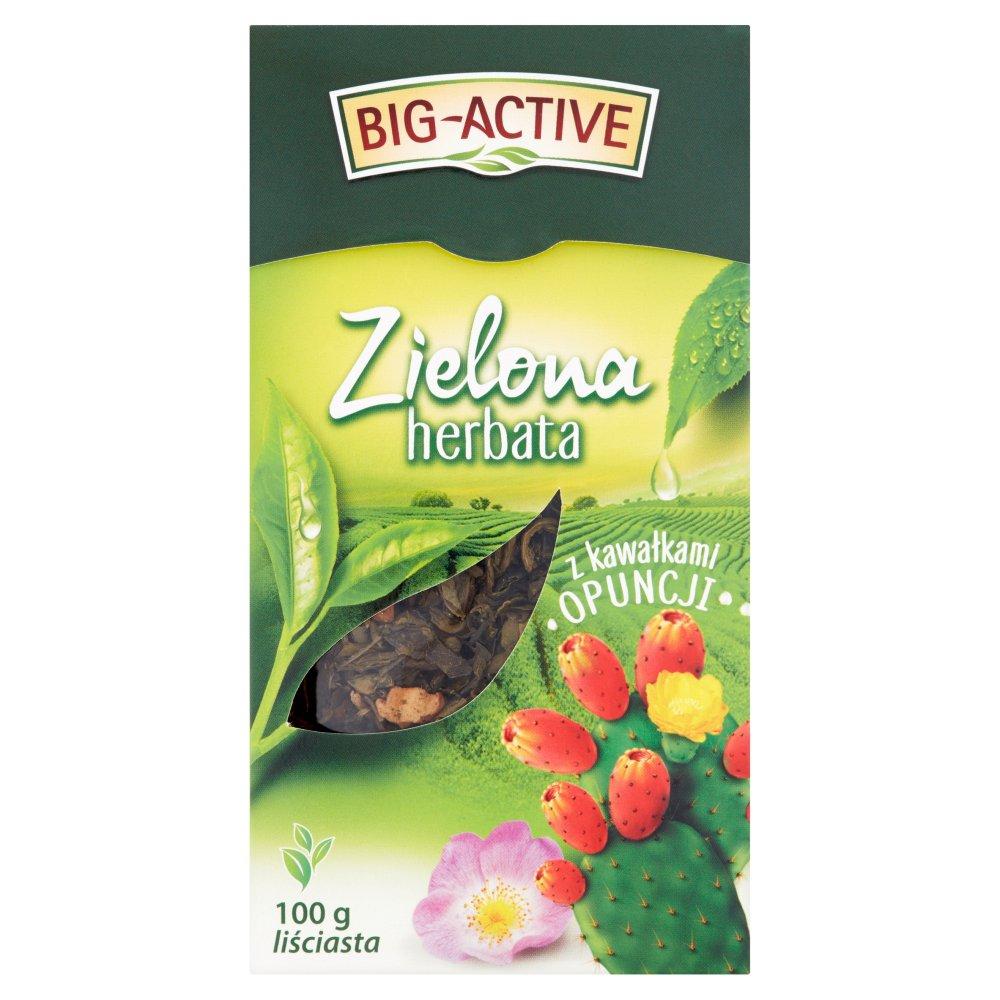 Big-Active Herbata zielona z kawałkami opuncji liściasta 100 g (2)