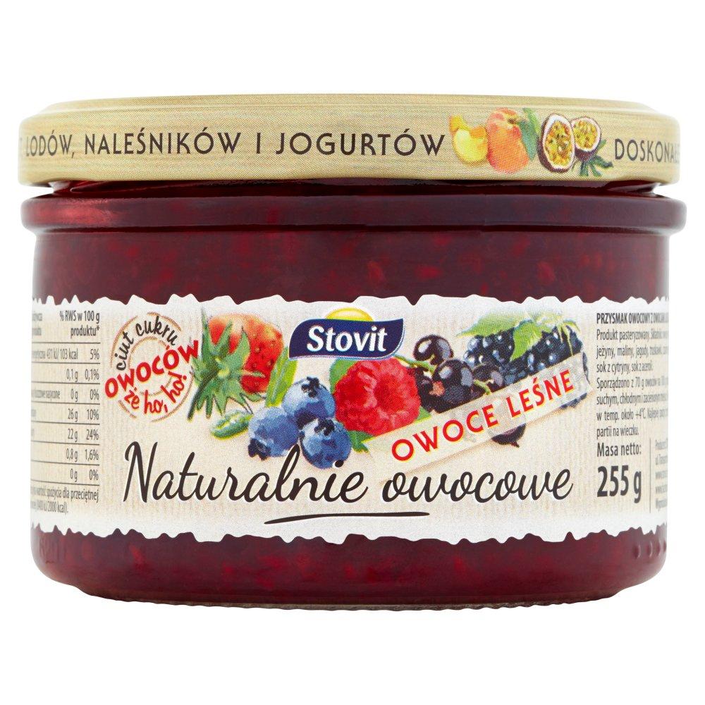 Stovit Naturalnie owocowe Owoce leśne 255 g (2)