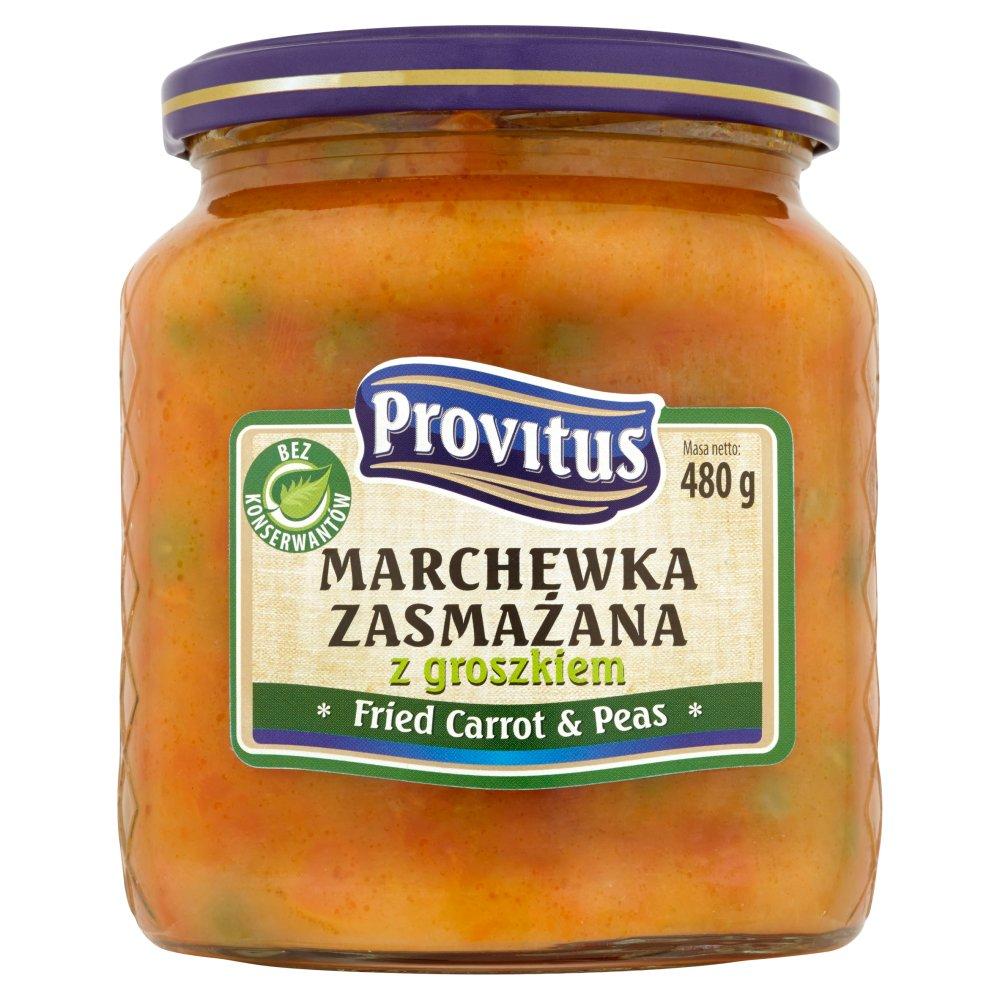 Provitus Marchewka zasmażana z groszkiem 480 g (2)