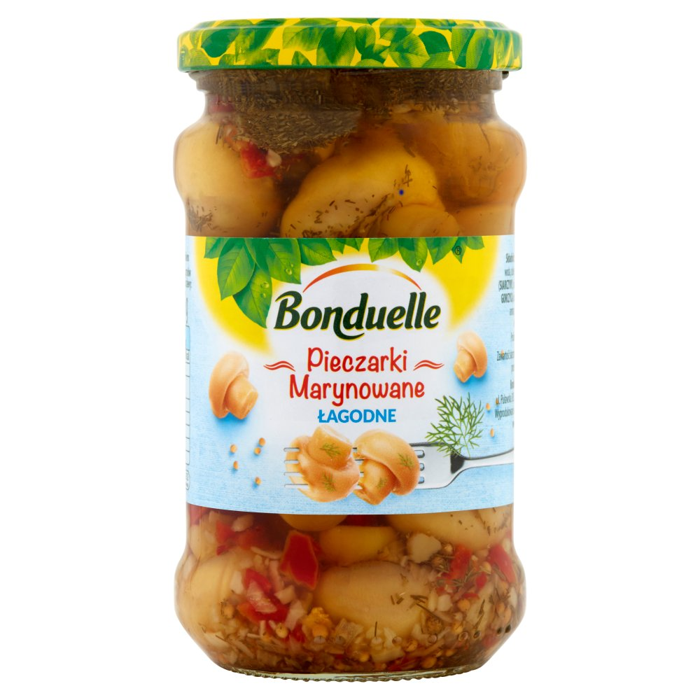 Bonduelle Pieczarki marynowane łagodne 280 g (2)