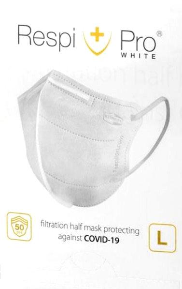 Maska antywirusowa medyczna RespiPro White 1 szt. -